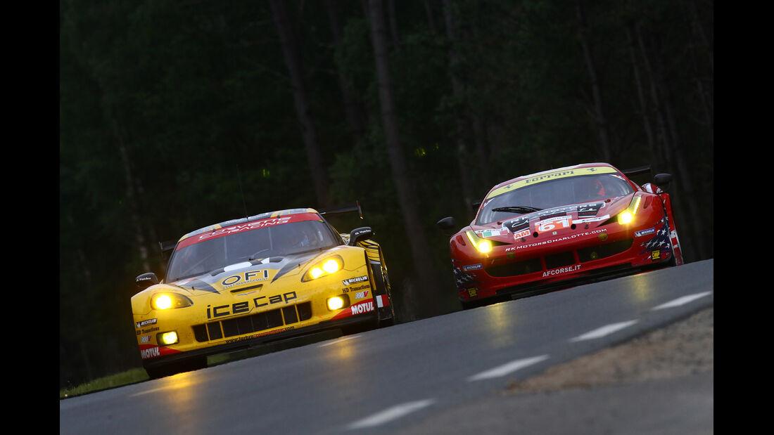 Corvette Ferrari Le Mans GT 2012