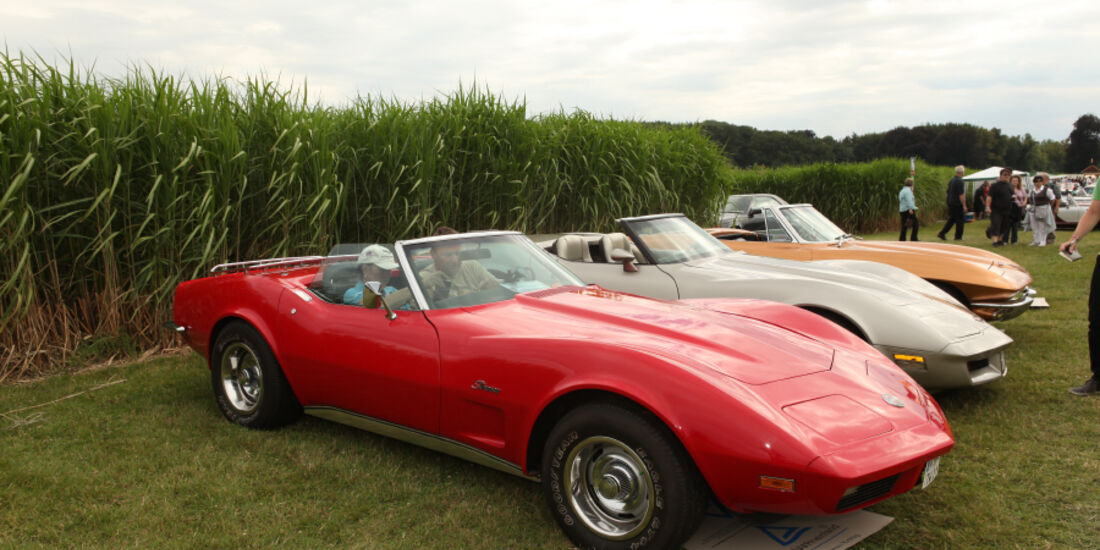 Corvette Forum bei den classic Days 2010