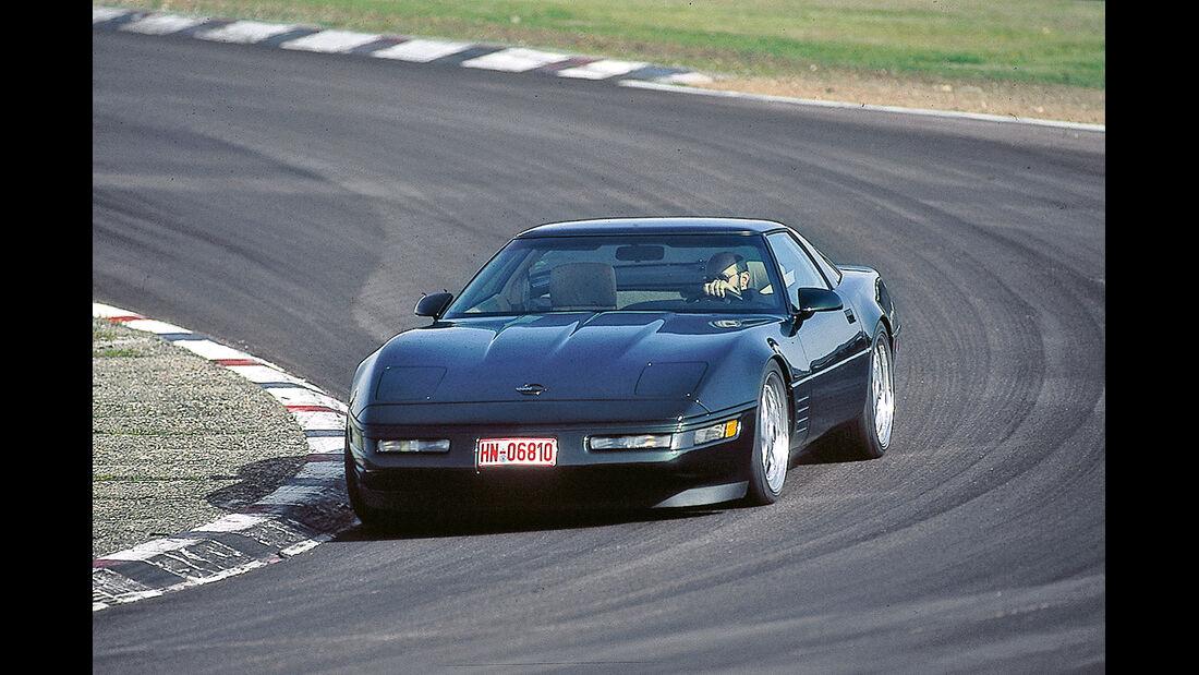 Corvette, Frontansicht