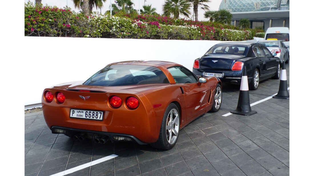 Corvette - GP Abu Dhabi - Carspotting 2015