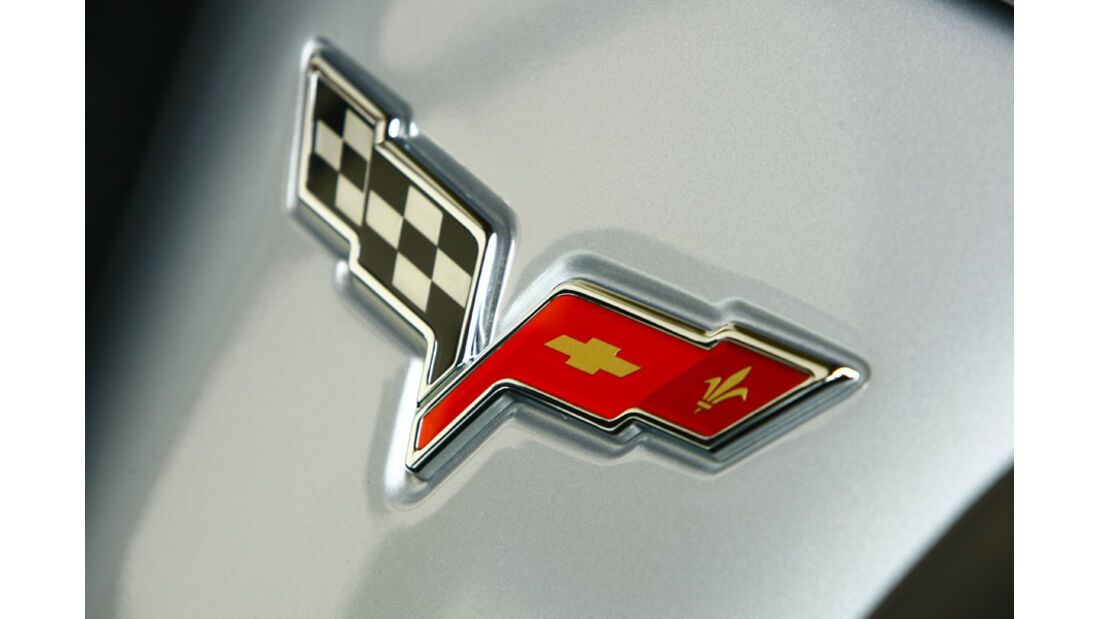 Corvette Grand Sport Cabriolet Emblem
