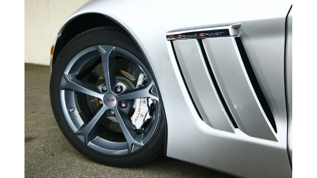 Corvette Grand Sport Cabriolet Rad Kotflügel Lüftungsschlitze
