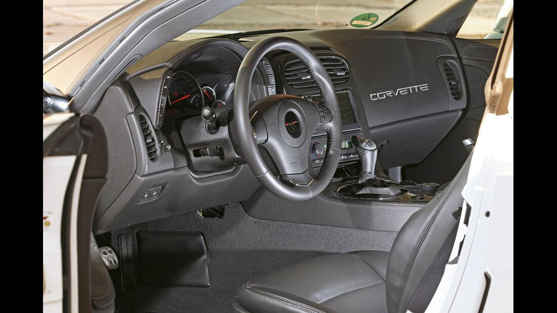 Corvette Grand Sport, Cockpit
