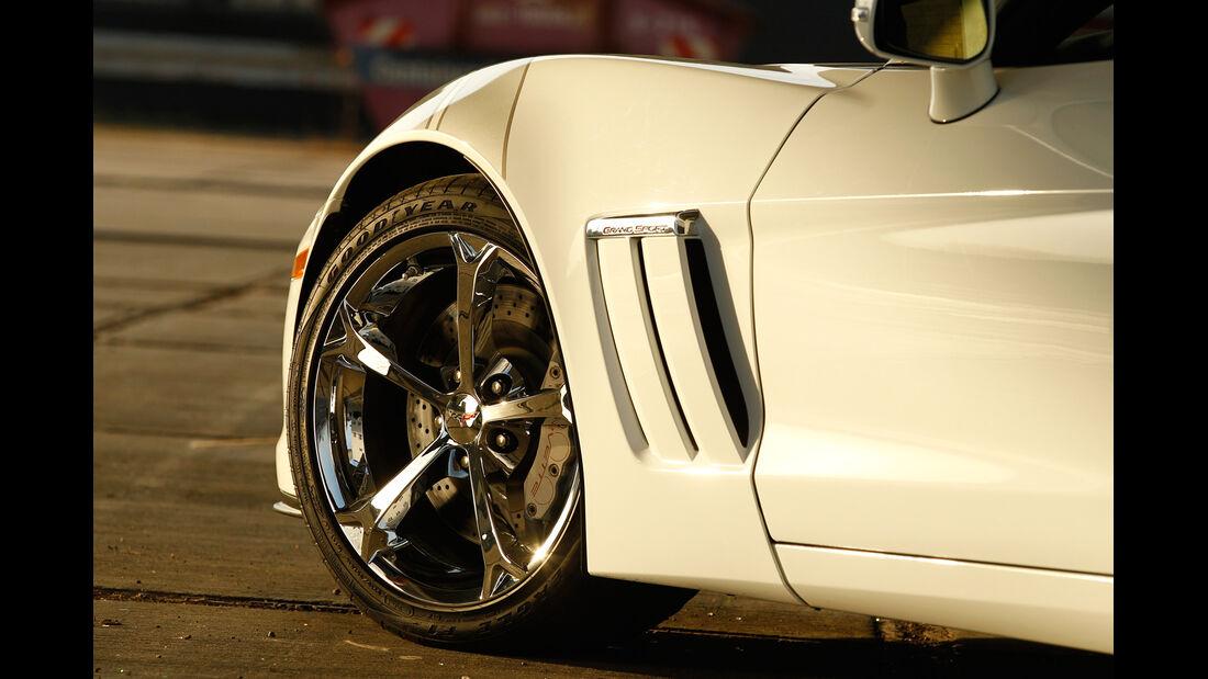 Corvette Grand Sport, Rad, Felge
