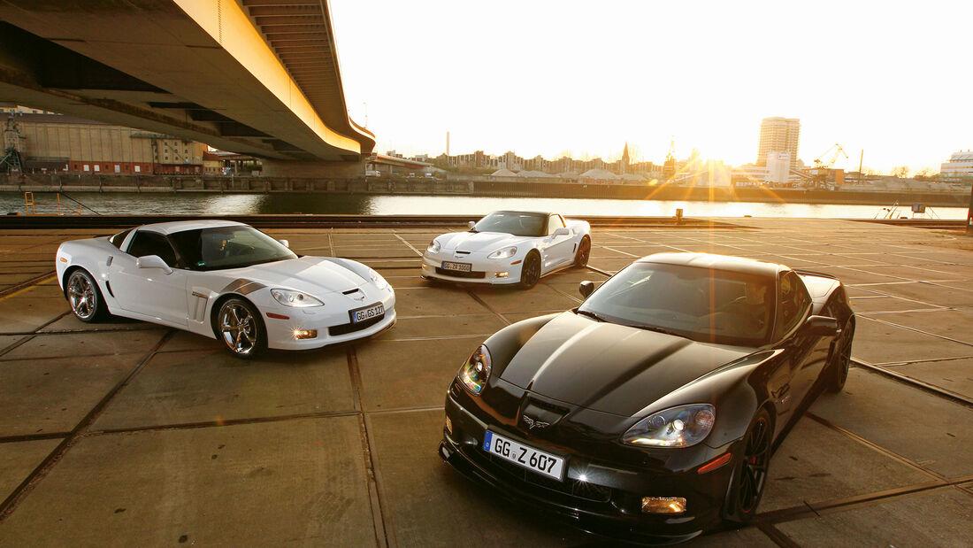Corvette Grand Sport, Z06, ZR1, Frontansicht