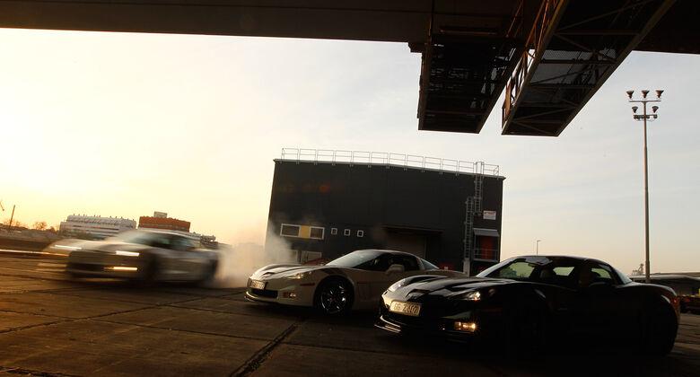 Corvette Grand Sport, Z06, ZR1, Seitenansicht