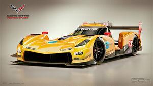 Corvette - LMP1-Concept - 2015