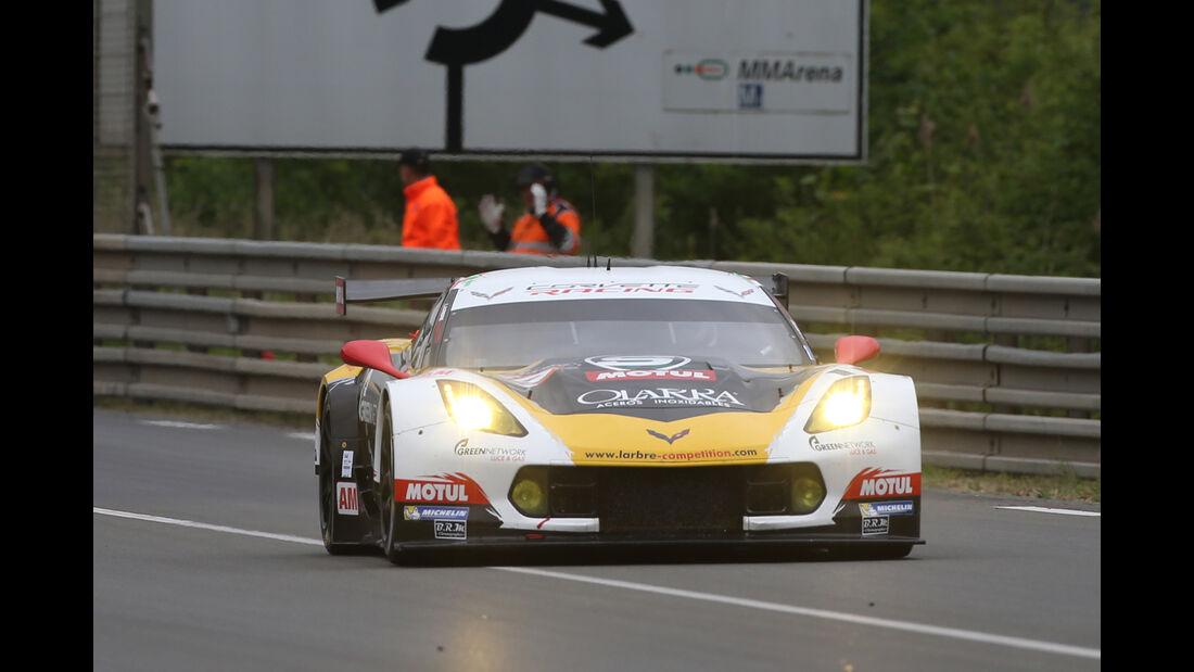 Corvette - Le Mans-Vortest 2015