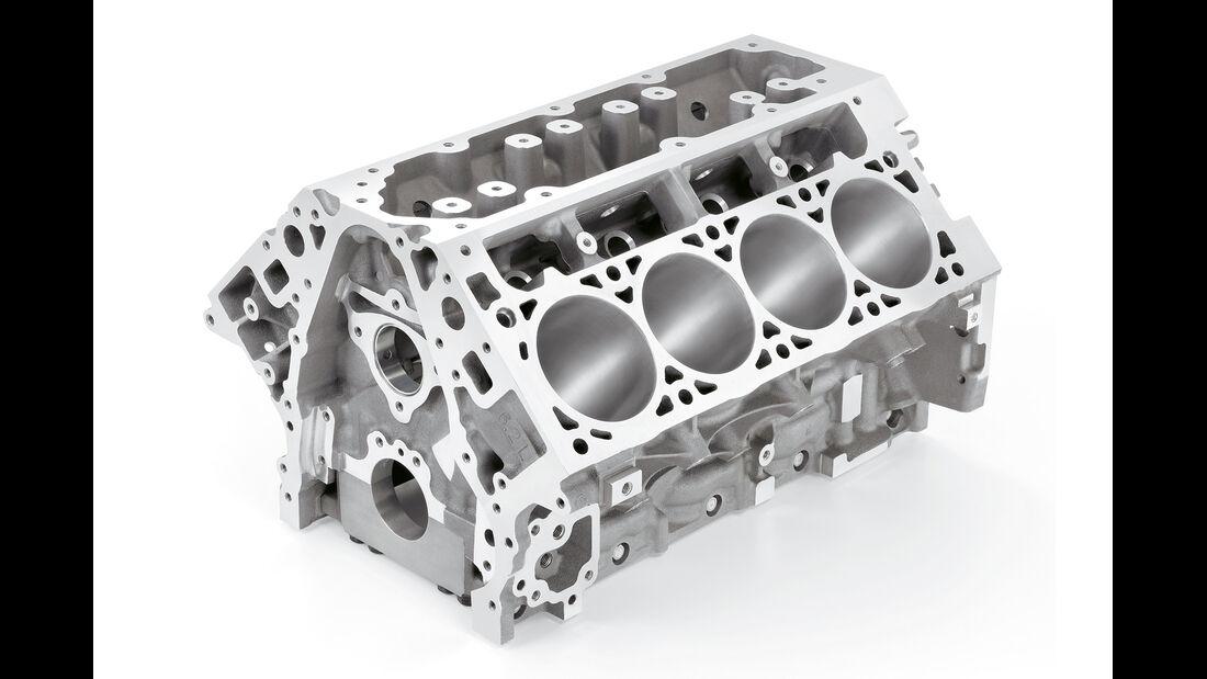Corvette-Motor, Gehäuse