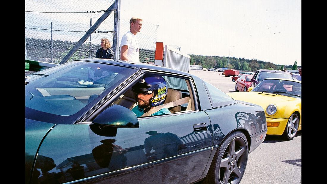 Corvette, Seitenansicht
