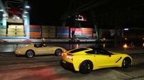 Corvette Stingray Coupé, Seitenansicht