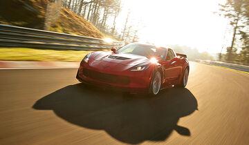 Corvette, Test