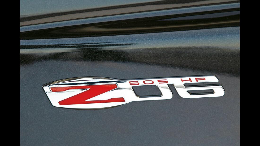 Corvette Z06, Emblem, Typenbezeichung