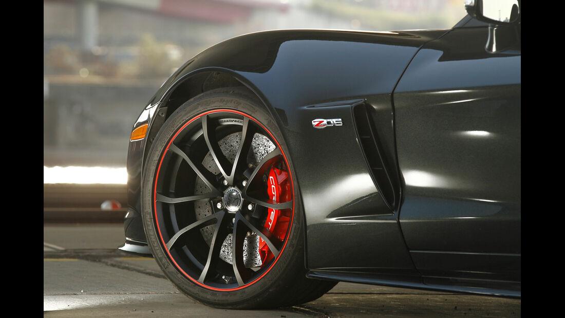 Corvette Z06, Rad, Bremse