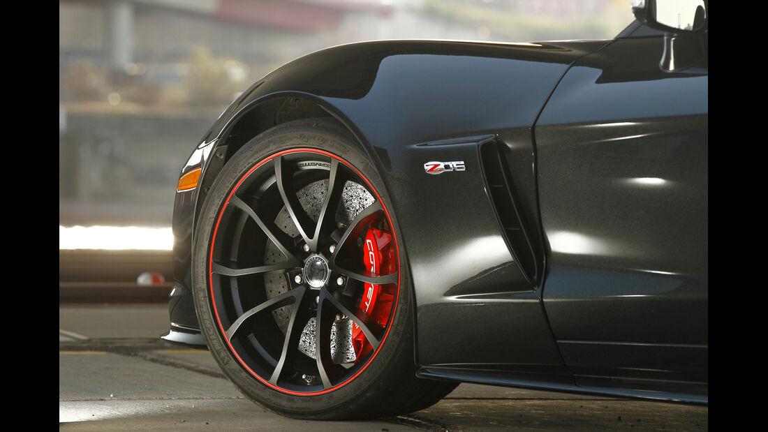 Corvette Z06, Rad, Felge