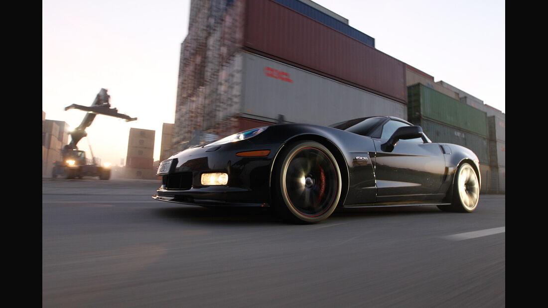 Corvette Z06, Seitenansicht