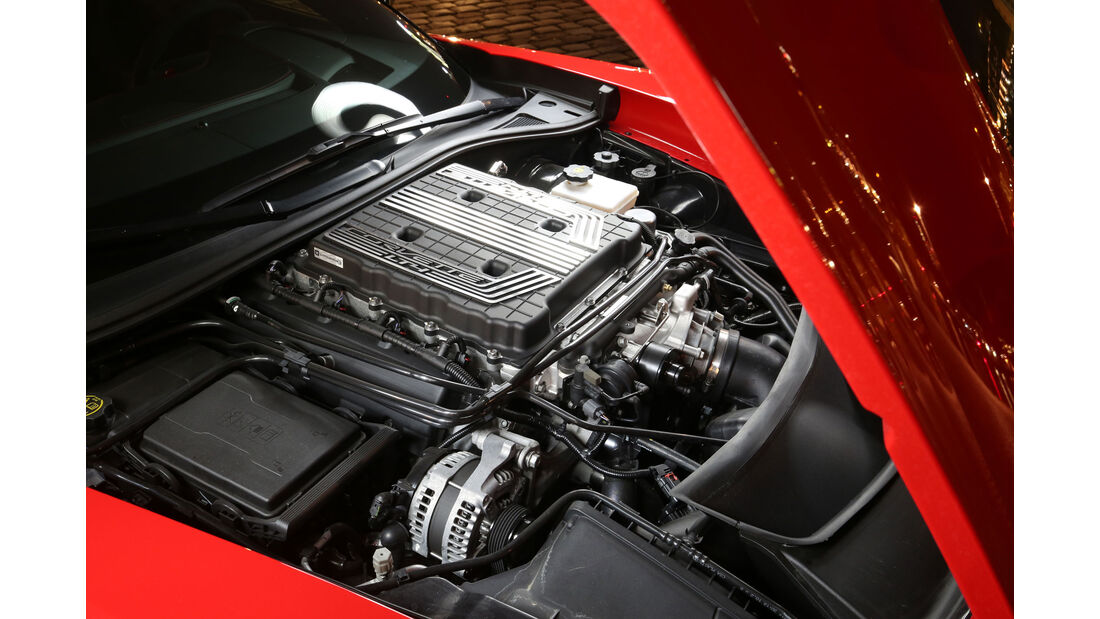 Corvette Z06 - Sportwagen - V8-Kompressor - Test