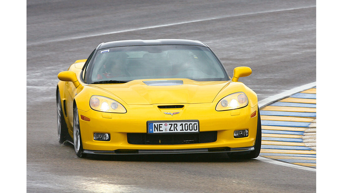 Corvette ZR1, Frontansicht