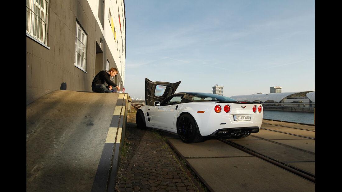 Corvette ZR1, Motorhaube