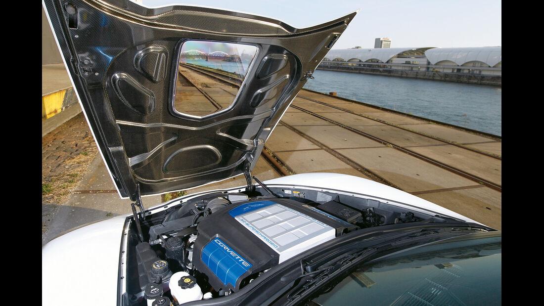 Corvette ZR1, Motorhaube, Motor