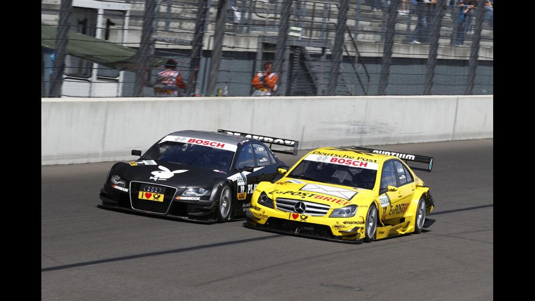 Coulthard Mortara DTM Lausitzring 2011