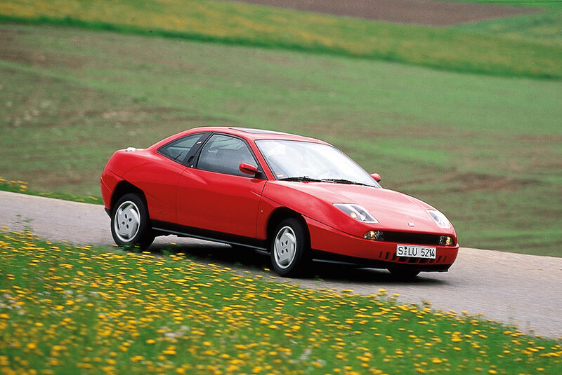 Coupé Fiat, Seitenansicht
