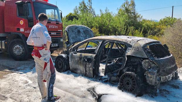 Craig Breen - Citroen C3 WRC - Rallye Türkei 2018