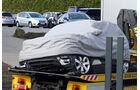 Crash Erlkönig Range Rover Sport