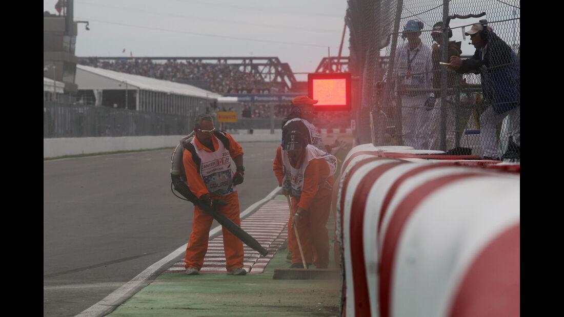 Crash - Formel 1 - GP Kanada - 8. Juni 2012