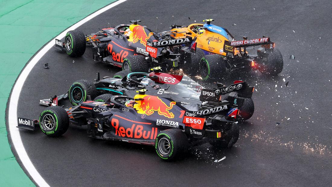 Crash - Formel 1 - GP Ungarn - 2021