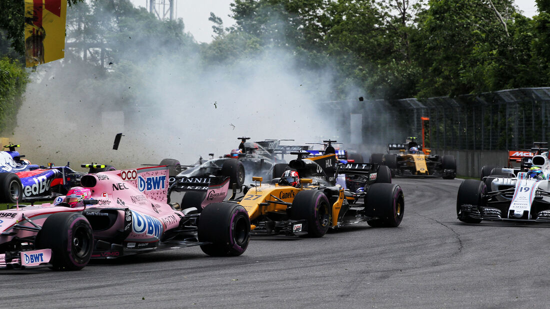 Crash - GP Kanada 2017