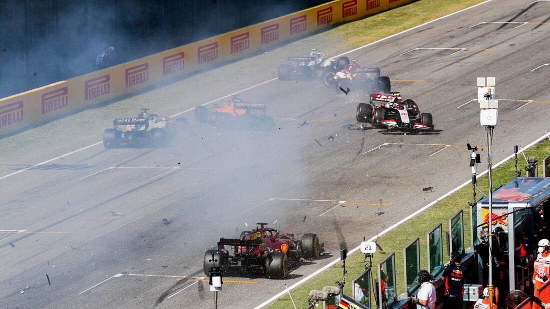 Crash - GP Toskana Mugello - 2020