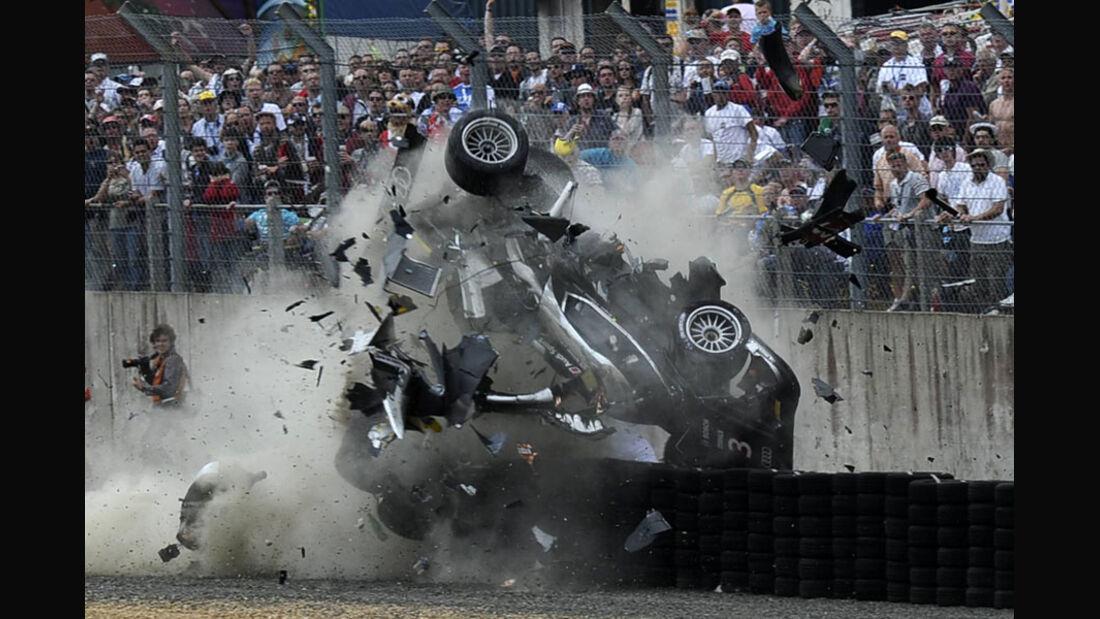 Crash McNish Le Mans 2011