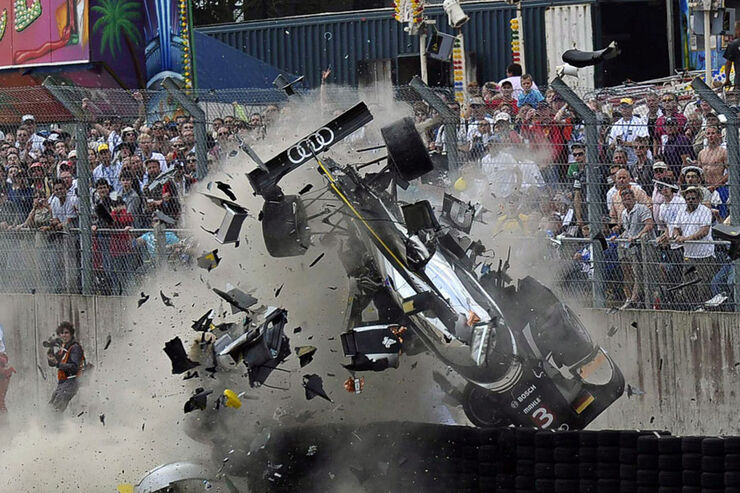 Crash McNish Le Mans 2011