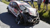 Crash - Rallye Portugal 2015