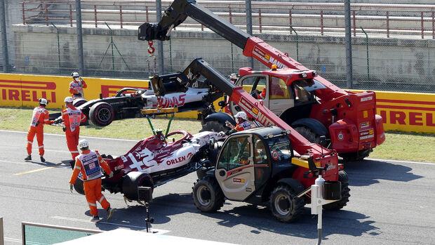 Crash Restart - GP Toskana 2020