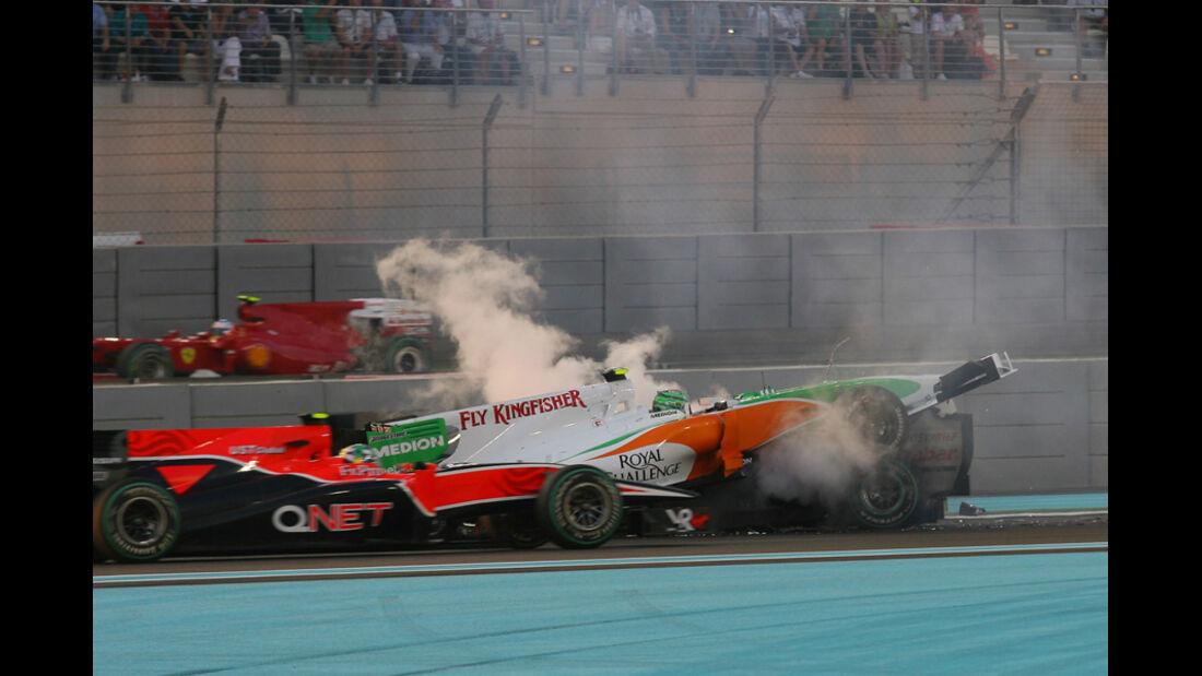 Crash Schumacher Liuzzi