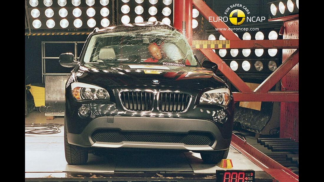 Crashtest BMW X1