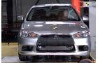 Crashtest Mitsubishi Lancer