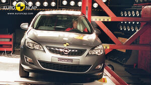 Crashtest Opel Astra
