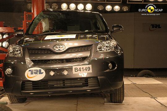Crashtest Toyota Urban Cruiser