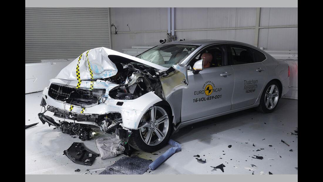 Crashtest Volvo S/V90 2017