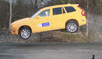 Crashtest, Volvo XC90, ditch-test