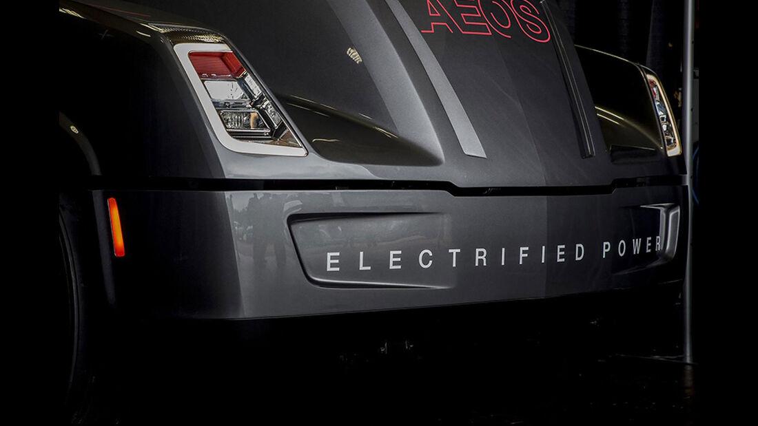 Cummins Aeos Elektro-Lkw