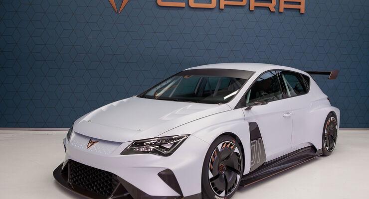 Cupra E-Racer (2018): Elektro-Rennwagen mit vier Motoren - auto ...