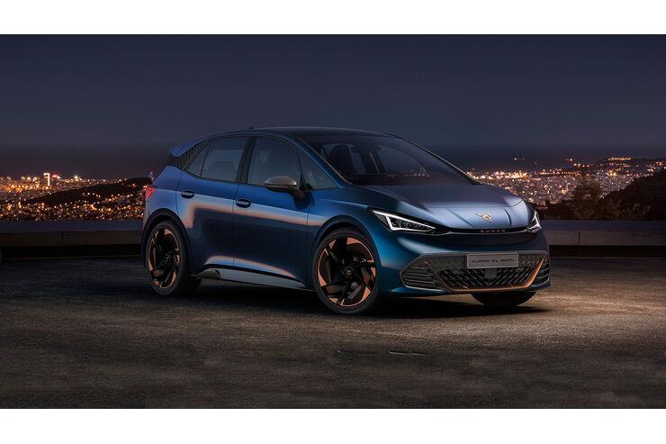 Cupra El-Born (2021): Elektro-Spanier mit 500 km Reichweite - auto motor und sport