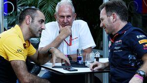Cyril Abiteboul - Dr. Helmut Marko - Christian Horner - Red Bull - Renault - Formel 1 - 2017