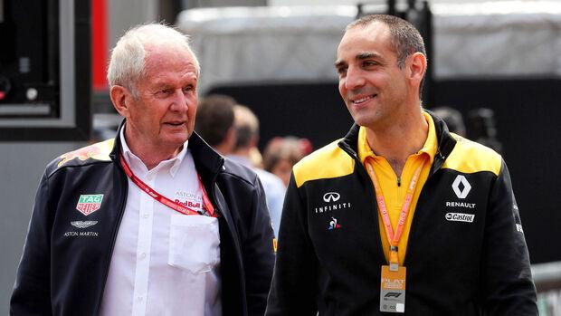 Cyril Abiteboul & Helmut Marko - Red Bull - 2020