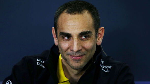 Cyril Abiteboul - Renault F1