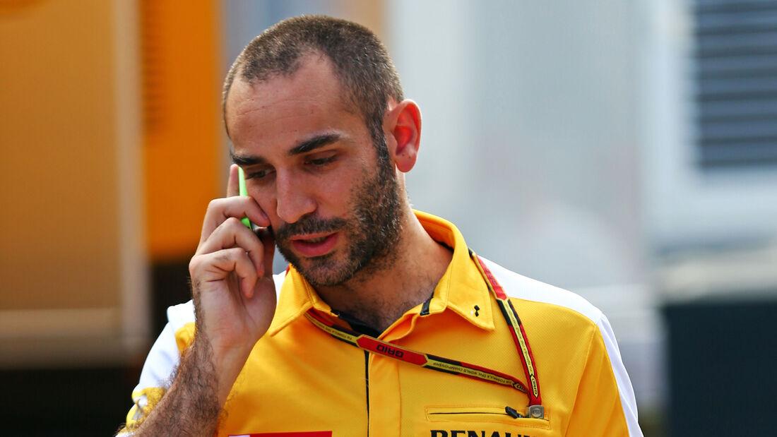 Cyril Abiteboul - Renault - F1 2014